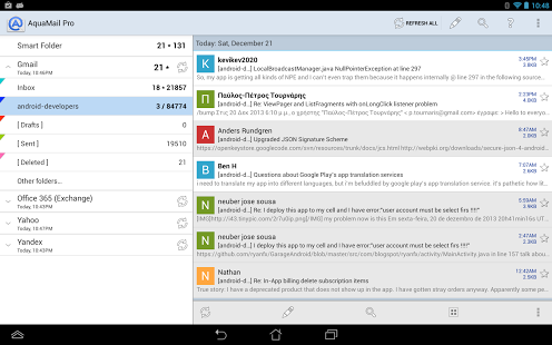 Must Have Best Android Email Client Apps For A Business User And A Software Consultant Init Page